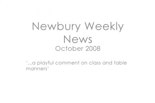 Newbury Weekly News, 2008