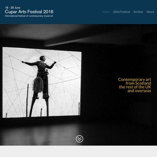 Julia Douglas, Cupar Arts Festival