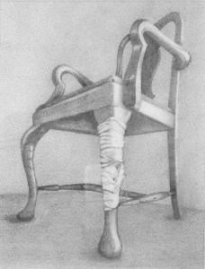Julia Douglas, Broken Leg