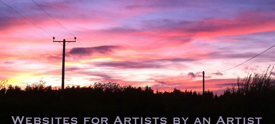 Websites for Artists by an Artist