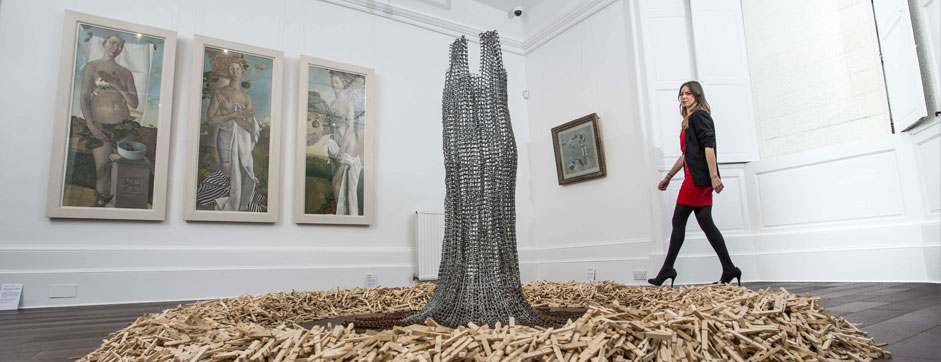 Highly Sprung selected for Aberdeen Art Gallery at Drum